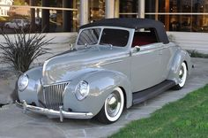 1939 Ford Deluxe Custom Convertible.