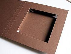 Shadow Box card tutorial * super erklärt, wunderbar für flache geschenke und nicht aufwändig