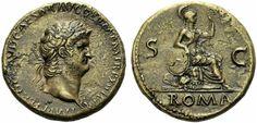 Nero Sestertius 1.400USD
