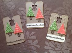 Kaseycreations, Stampin Up Christmas tags, Tag it by Kerry Crocker