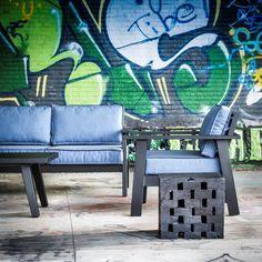 Outdoor Lounge Set by Belgian designer Gommaire