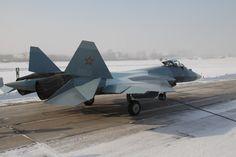 Russian Sukhoi T-50 PAK-FA