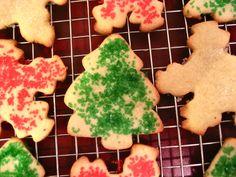 Christmas Cutout Sugar Cookies