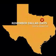 Cover Page of Remember Dallas Days