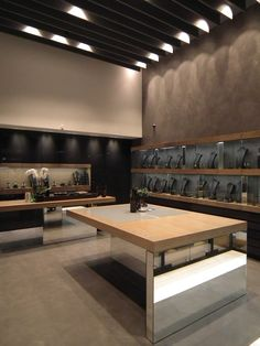 KARKALIS Jewellery In Glyfada, Athens. Nino Dogiou Architect Athens, Conference Room, Jewellery, Architecture, Table, Furniture, Home Decor, Arquitetura, Jewels