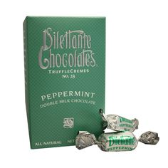 Dilettante Peppermint Double Milk Chocolate Truffle Cremes