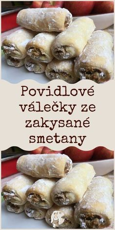 Sweet Desserts, Sweet Recipes, Slovakian Food, Baking Recipes, Cake Recipes, Czech Recipes, Nutella, Cooking Tips, Foodies