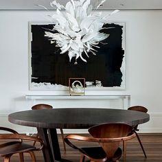 Apartamento em São Paulo, Brasil. Projeto da arquiteta Zize Zink. #architecture #arquitetura #interiores #arquiteturaeinteriores #arte #artes #arts #art #artlover #design #interiordesign #architecturelover #instagood #instacool #instadaily #furnituredesign #design #projetocompartilhar #davidguerra #arquiteturadavidguerra #shareproject #dinigroom #diningroomdesign #in...