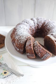 Chocolate Cinnamon Pound Cake
