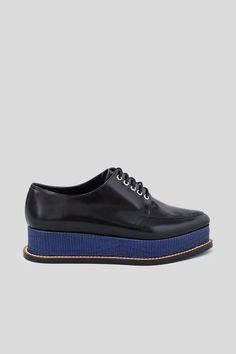 opening ceremony eleanora shiny leather platform oxfords