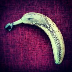 Dad's Lunchtime Banana Art Is Undeniably A-Peel-Ing