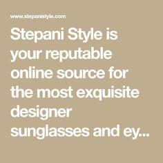 86520e8a0f38c Exquisite Designer Eyewear at Bargain Prices