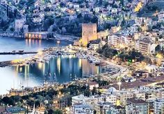 Alanya Attractions, Alanya historical sites: Alanya, is one of the most preferred holiday destination for holidays in Antalya. Not only for its natural beauty, there are many places to visit in Alanya eyes filled with historical buildings. Places To Travel, Places To See, Travel Destinations, Alanya Turkey, Travel Wallpaper, Journey, Turkey Travel, Historical Sites, Holiday Travel