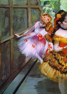 Edgar Degas    Ballet Dancers in Butterfly Costumes    1880