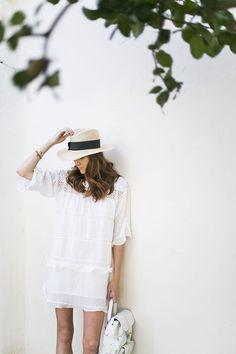 Isabel Marant /// #fashion #white