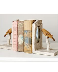 bird bookends...this can't be that hard right? maybe without the mirrors