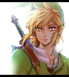 Link- gorgeous eyes in this image