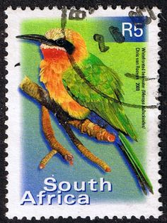 South Africa 2000 Birds R5 Fine Used SG 1227 Scott 1195 Other Bird Stamps HERE