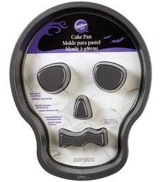 Wilton Novelty Cake Pan-Skull