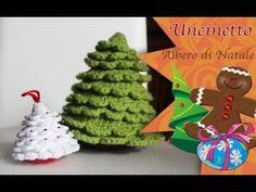 Uncinetto amigurumi: Albero di Natale - YouTube