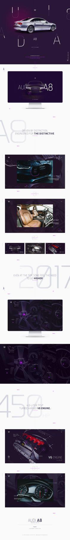 AUDI A8 - ConceptDesign on Behance