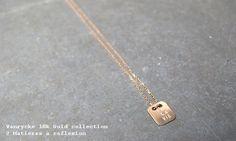 La Vie // Vanrycke 18k gold La Vie necklace @ Matières à réflexion