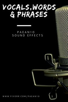 Huge collection of famous and spoken vocals sound effects Sound Effects, Video Editing, Music Videos, Commercial, Words, Free, Collection, Horse