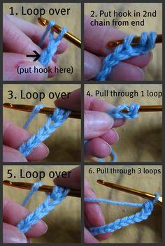 Crochet 101 and DIY baby booties