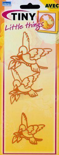 Mery's Tiny Little things Embossingmal Vogel 4 054 408 - Stencils