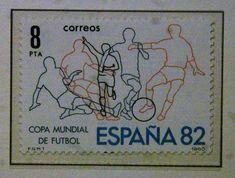 Sellos - Mundial de Futbol 1982