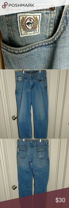 CINCH MEN'S JEANS 32X34 CINCH MEN'S JEANS 99% COTTON AND 1% SPANDEX  SIZE 32X34 Cinch Jeans