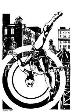 davestokes:    Daredevil by Dave Stokes