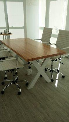 oficina mesa de reuniones escritorios trio diseo en madera