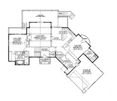 1000 images about house on pinterest walkout basement for Rambler floor plans with basement