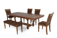WIN-DG24092/6PC - Winners Only Grand Estate Six-Piece Dining Set   Mathis Brothers Furniture