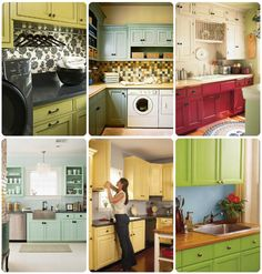 Awesome ways to update cabinets!  #springintothedream
