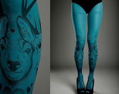 Tattoo print pantyhose size — img 13