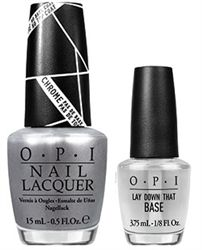 OPI - Gwen Stefani - Push and Shove - Do whatever it takes to get your hands on this mirrored chrome.