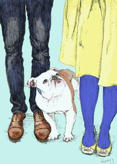 by rockstar diaries [awesome expression capture] Love Illustration, Graphic Design Illustration, Wooly Bully, Sketch Inspiration, Dog Art, Pet Portraits, Painting & Drawing, Illustrators, Sketches