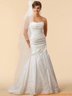 2012 stuttgart Brautkleid im Meerjungfrauenstil aus Satin online