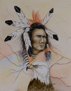 Greet van Viegen - Sioux-indiaan