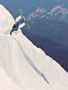Looks wickedly awesome, dude! ;) #snowboarding