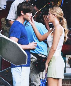 Nate and Serena <3  ~The Brunette Prep
