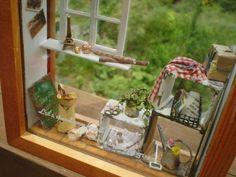 ♡ ♡ Detalle de un interesante cuadro con miniaturas
