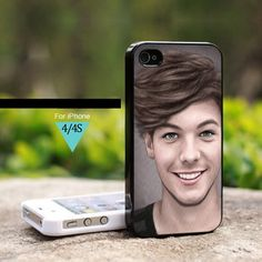One Direction Louis Tomlinson 1D - For iPhone 4 / 4s Case | onlinecustomshop - Accessories on ArtFire