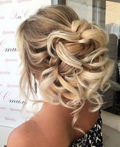 91 best wedding hairstyles for short and long hair 2018 - Hairstyles Trends Best Wedding Hairstyles, Fancy Hairstyles, Bridal Hairstyles, Hairstyle Wedding, Fashion Hairstyles, Homecoming Hairstyles, Medium Hairstyles, Celebrity Hairstyles, Wedding Hair And Makeup