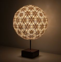 robert debbane's 3D printed lamps light up new york design week