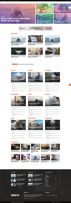 Magazine and Blog Website Layout. Lifestyle, Gossip and Celebrity News. WordPress Theme. Design Layout. WordPress Online Template Inspiration. General News, Fashion News, Women Health, Men Health, Gadget, Tech, Style or Gossip News.