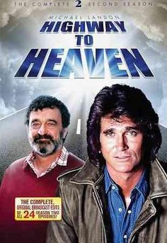 Following the travails of handyman Jonathan Smith (Michael Landon), HIGHWAY TO HEAVEN originally aired on NBC, and saw Landon reunite with his LITTLE HOUSE ON THE PRAIRIE co-star Victor French. Smith