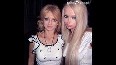 Valeria Lukyanova, Barbie humaine : Sa famille, ses amis... des poupées ... Valeria Lukyanova  #ValeriaLukyanova